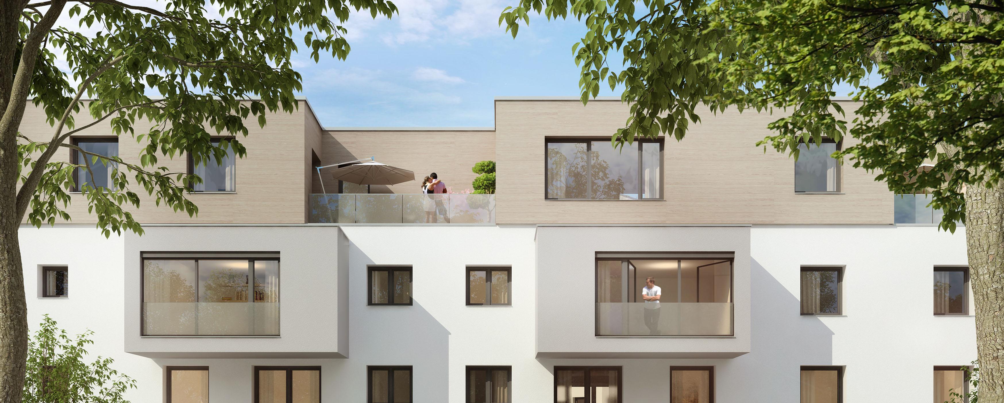 wf nf wohnen im neubau ingenium 20 mit kfw. Black Bedroom Furniture Sets. Home Design Ideas
